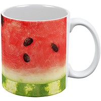 Watermelon Seeds Summer All Over Coffee Mug