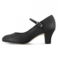 "Bloch Women's Leather Cabaret 2.5"" Character Shoes"