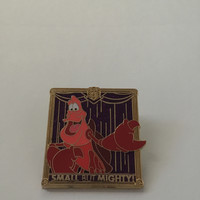 disney imagination gala event 2014 small but mighty sebastian ariel pin new