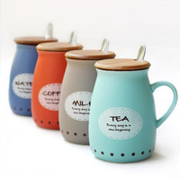 A cup of tea.The cup will make you feel the tea well-drink. = 4463730884