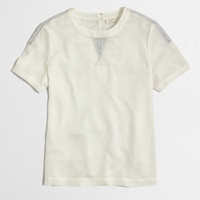 Factory lace details tee : Blouses & Tees | J.Crew Factory