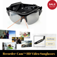 Recorder-Cam™ HD Video Sunglasses