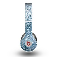 The Circle Pattern Silver Sequence Skin for the Beats by Dre Original Solo-Solo HD Headphones