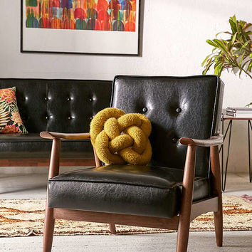 Wyatt Vegan Leather Chair - Urban Outfitters