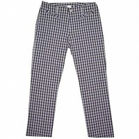 Plaid Juniors Pants