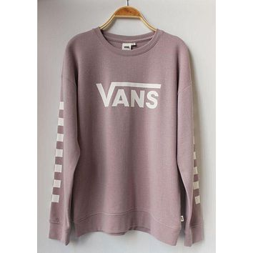 VANS Fashion Casual Long Sleeve Sweater Pullover Sweatshirt-1