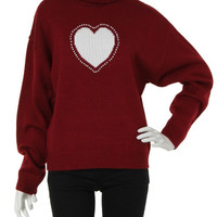 Red Heart It Sweater
