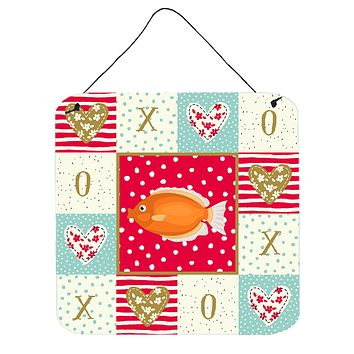 Kissing Gourami Love Wall or Door Hanging Prints CK5488DS66