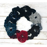 Bedazzled Scrunchie: 2-Pack
