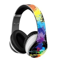 Paint Splatter Skin for Studio Beats By Dr. Dre - (Skin Kit Only - Headsets Not Included)