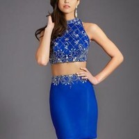 Clarisse 2683 Two Piece Homecoming Dress