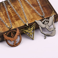 Pokemon Go Articuno - Moltres - Zapdos Pendant Necklace