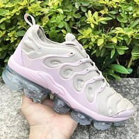 NIKE Air VaporMax Plus TN Fashion New Air Cushion Leisure Sports Women Colorful Running Shoes Pink