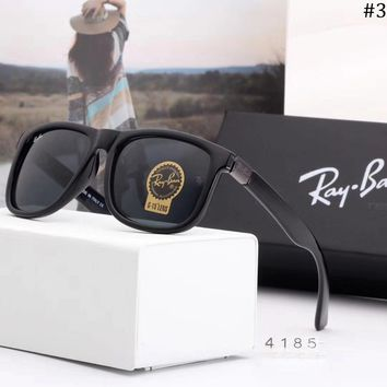 Ray-Ban trend men's color film retro driving casual polarized sunglasses #3