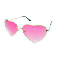 TAINTED VISION ROSE HEART SHADES