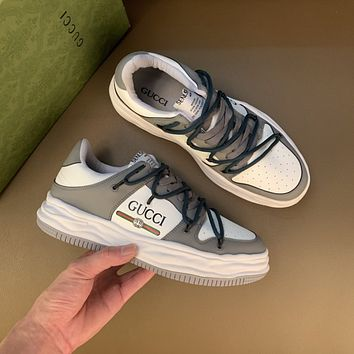 Gucci 2021 Men Fashion Boots fashionable Casual leather Breathable Sneakers Running Shoes10170wk