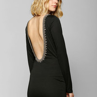 Glamorous Embellished Low-Back Bodycon Dress - Urban Outfitters