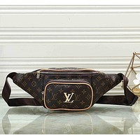 Louis Vuitton LV Women Leather Purse Waist Bag Single-Shoulder Bag Crossbody