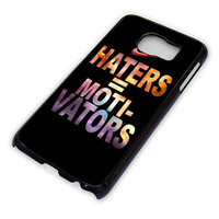Nike Haters Motivation Custom for Samsung Galaxy S6 Case *76*