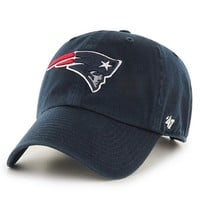 Official New England Patriots ProShop - '47 Brand Clean Up Cap-Navy