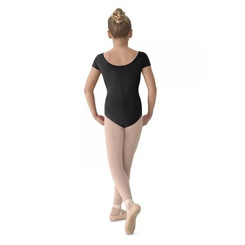 Mirella Girl's Cap Sleeve Leotard