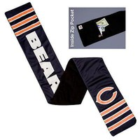 Chicago Bears NFL Licensed Fleece-Lined Jersey Scarf FREE US SHIPPING