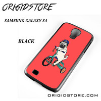 Pug Bicycle For Samsung Galaxy S4 Case UY