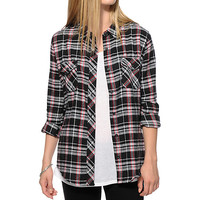 Empyre Black & Red Flannel Shirt