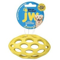 JW Pet Hol-ee Football Dog & Puppy Toy Sz: Small
