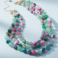 Layered Marbles Necklace