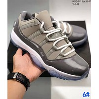 NIKE Air Jordan 11 Low AJ11 Fashion Men Women Personality Sport Sneakers Basketball Shoes 6#