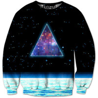 Pixel Triangle Sweatshirt