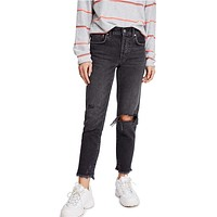 Free People - Good Times Relaxed Skinny in Black