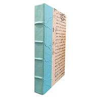 Turquoise Spine Decorative Book