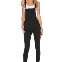 Cheap Monday Dungaree Overall in Black