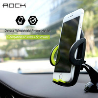 Phone Car Holder Rock Luxury Cars Mobile Phone Holders & Stands pop socket 360 Rotate Adjustable Suitable for 4-6inch