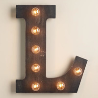 'L' Marquee Light