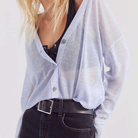 Cooperative Sheer Cropped Cardigan | Urban Outfitters