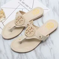 Fashion Online Tory Burch Slippers Casual Fashion Women Sandal Slipper Shoes H-llbpfsh