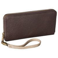 Merona® Phone Case Wallet with Removable Wristlet Strap - Brown