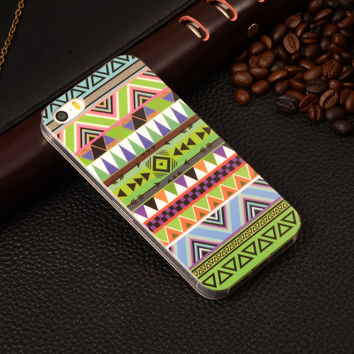 Pyramid Pattern Rubber TPU Soft Mobile Phone Protective Case Cover For Apple iPhone 5/5S