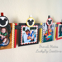 12 Month Banner, Mickey Mouse Banner, Mickey Banner, Mickey Mouse Party!  Mickey Theme banner, birthday banner, party banner, 1st Birthday!