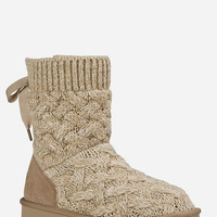 Ugg Isla Womens Boots Heathered Oatmeal  In Sizes