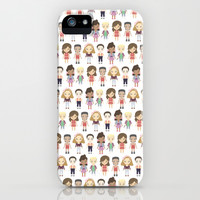 Saved by the Bell Pattern iPhone & iPod Case by Ricky Kwong | Society6