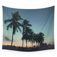 Society6 Tropical Sunsets Wall Tapestry