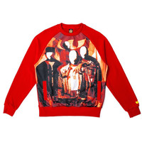 DISCIPLES CREWNECK in Red