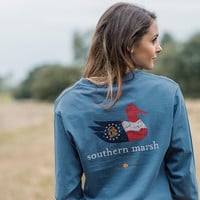Southern Marsh Authentic Heritage Collection - Georgia - Long Sleeve