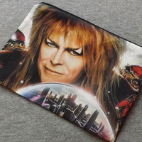Labyrinth Jareth Make Up Zipper Pouch