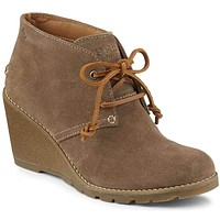 Women's Stella Prow Bootie in Taupe by Sperry