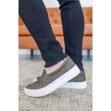 Mira Sneakers - Olive